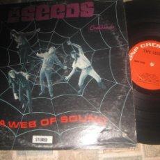 Discos de vinilo: THE SEEDS - A WEB OF SOUND - (CRESCENDO 1967) OG USA SOLO PORTADA+REGALO VINILO LIVE SEED OPORTUNID. Lote 263140840