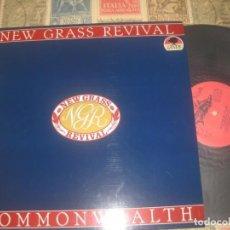 Discos de vinilo: NEW GRASS REVIVAL, COMONWEALTH,( FLYING FISH RECORDS, 81 89) OG ESPAÑA SIN SEÑALES DE USO. Lote 263147725