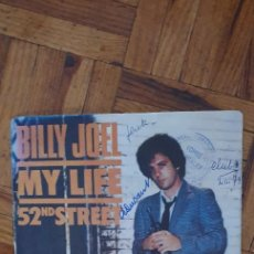 "Discos de vinilo: BILLY JOEL ‎– MY LIFE / 52ND STREET LABEL: CBS ‎– CBS 6821 FORMAT: VINYL, 7"", 45 RPM, SINGLE COUNTRY. Lote 263148400"