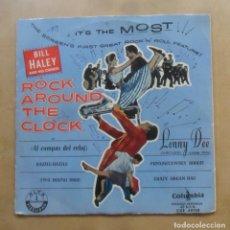 Disques de vinyle: SINGLE - ROCK AROUND THE CLOCK - COLUMBIA. Lote 263150320