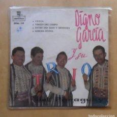 Discos de vinilo: SINGLE - DIGNO GARCIA Y SU TRIO DEL PARAGUAY - ZAFIRO - 1959. Lote 263150810