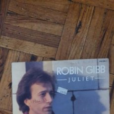 "Discos de vinilo: ROBIN GIBB – JULIET LABEL: POLYDOR – 810 895-7 FORMAT: VINYL, 7"", SINGLE, 45 RPM COUNTRY: FRANCE. Lote 263150950"