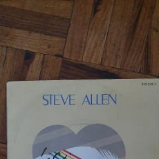"Discos de vinilo: STEVE ALLEN – LETTER FROM MY HEART LABEL: POLYDOR – 818 308-7 FORMAT: VINYL, 7"", 45 RPM, SINGLE CO. Lote 263151585"