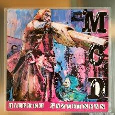 Discos de vinilo: M.C.D. LP BILBOKO GAZTETXEAN 1987. Lote 263152535