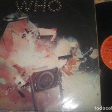 Discos de vinilo: THE WHO THE STORY DOBLE PORTADA (1976 POLYDOR)– + LIBRETO OG ESPAÑA. Lote 263159425