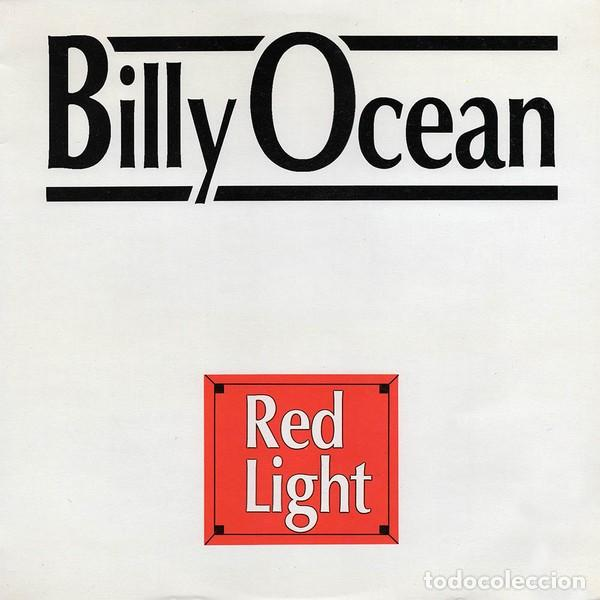 BILLY OCEAN * LP VINILO * RED LIGHT * SPAIN 1988 (Música - Discos - LP Vinilo - Funk, Soul y Black Music)