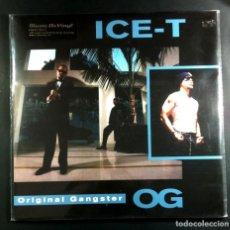 Discos de vinilo: ICE T - O.G. ORIGINAL GANGSTER . LP REEDICION 2019 - MUSIC ON VINYL (NUEVO). Lote 263164105