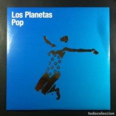 Discos de vinilo: LOS PLANETAS - POP - LP REEDICON CON ENCARTE 2010 - EL EJERCITO ROJO. Lote 263166615
