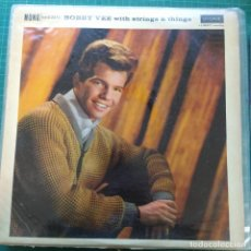 Discos de vinilo: BOBBY VEE - BOBBY VEE WITH STRINGS AND THINGS (LP, ALBUM, MONO) (1961/UK). Lote 263173550