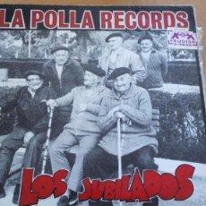 Dischi in vinile: LA POLLA RECORDS LOS JUBILADOS LP 1990 OIHUKA CON LIBRETO. Lote 263177015