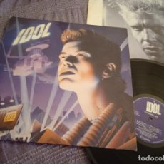 Discos de vinilo: BILLY IDOL LP. CHARMED LIFE MADE IN SPAIN. 1990. Lote 263180510