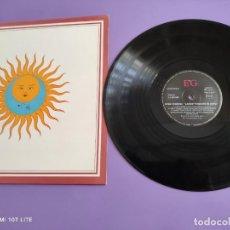 Discos de vinilo: JOYA. LP. KING CRIMSON. LARK`S TONGUES IN ASPIC. AÑO 1973. EG LL 207 940. SPAIN.. Lote 263180730