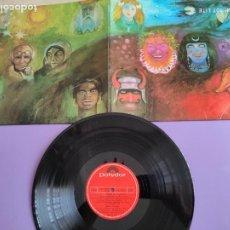 Discos de vinilo: JOYA. LP. KING CRIMSON. IN THE WAKE OF POSEIDON. SELLO POLYDOR 24 75 696.AÑO 1980.GATEFOLD.SPAIN. Lote 263181695