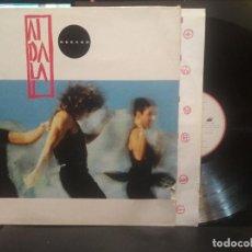 Discos de vinilo: MECANO - AIDALAI - LP CON ENCARTE 1991 - ARIOLA PEPETO. Lote 263189650