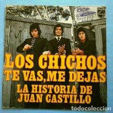 Discos de vinilo: LOS CHICHOS (SINGLE 1974) (SOLO PORTADA / FUNDA SIN DISCO) TE VAS, ME DEJAS (TAMBIEN SE REGALA). Lote 263190085