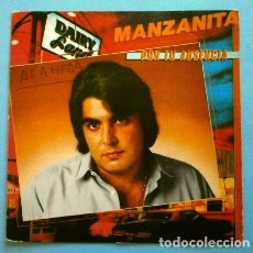 Discos de vinilo: MANZANITA (SINGLE 1981) (SOLO PORTADA / FUNDA SIN DISCO) POR TU AUSENCIA (TAMBIEN SE REGALA). Lote 263190410