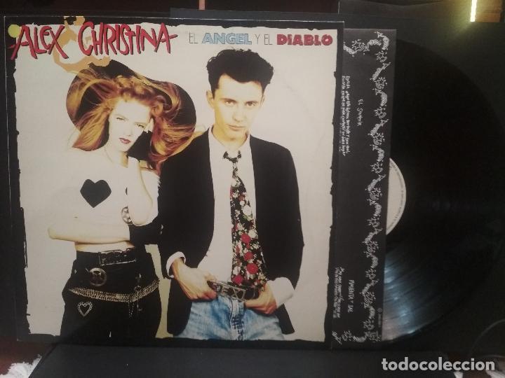 ALEX Y CRISTINA - EL ANGEL Y EL DIABLO - LP - 1989 PEPETO (Música - Discos - LP Vinilo - Grupos Españoles de los 70 y 80)