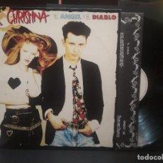 Disques de vinyle: ALEX Y CRISTINA - EL ANGEL Y EL DIABLO - LP - 1989 PEPETO. Lote 263190455