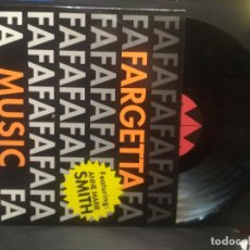 Discos de vinilo: FARGETTA FEATURING ANNE MARIE SMITH (MUSIC) EXTENDED MIX (MY FIRST LOVE) CLUB MIX + CLUBCLUB PEPETO. Lote 263190985