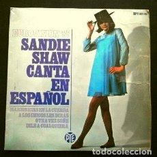 Discos de vinilo: SANDIE SHAW (EP EUROVISION 1967) MARIONETAS EN LA CUERDA (EN ESPAÑOL). Lote 263192375