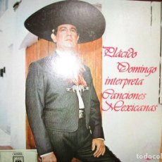 Discos de vinilo: 6 LP'S PLACIDO DOMINGO + LIBERTAD LAMARQUE + LOS PANCHOS + 3 LP'S VER LAS FOTOGRAFIAS. Lote 263193680