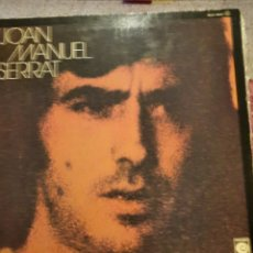 Discos de vinilo: JOAN MANUEL SERRAT CANCIÓN INFANTIL.. Lote 263199155