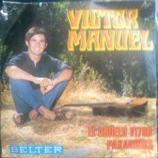 Discos de vinilo: VICTOR MANUEL. EL ABUELO VÍCTOR.. Lote 263199930