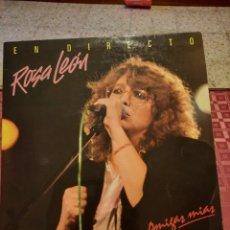 Discos de vinilo: ROSA LEÓN AMIGAS MIAS. Lote 263200475