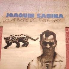 Discos de vinilo: JOAQUIN SABINA EL HOMBRE DEL TRAJE GRIS. Lote 263200820