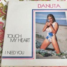 "Dischi in vinile: DANUTA - TOUCH MY HEART (12"") SELLO:KEY RECORDS INT. CAT. Nº: KRI-035. VG+ / VG+++. Lote 263206235"