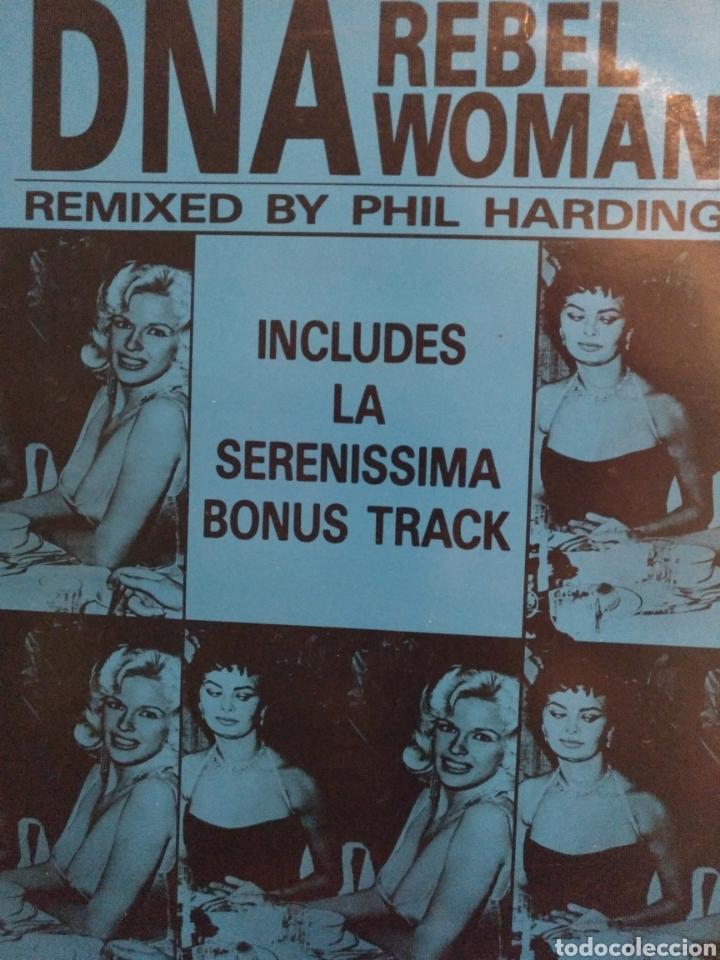 DNA.** REBEL WOMAN ** (Música - Discos de Vinilo - Maxi Singles - Pop - Rock Internacional de los 90 a la actualidad)