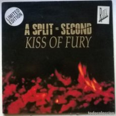 Dischi in vinile: A SPLIT SECOND. KISS OF FURY. ANTLER SUBWAY, BELGIUM 1990 LP + DOBLE CUBIERTA LIMITED EDITION. Lote 263211110