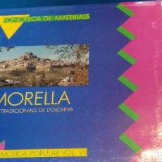 Discos de vinilo: LP FONOTECA DE MATERIALS MORELLA TOCS TRADICIONALS DE DOLCAINA TALLERS DE MUSICA POPULAR VOL. VII. Lote 263214845