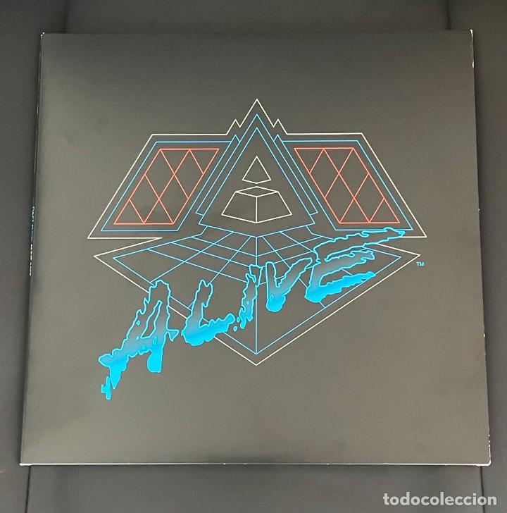 RARO DAFT PUNK ALIVE 2007 2 LP VINYL GATEFOLD VINILO RARE EDITION (Música - Discos - LP Vinilo - Techno, Trance y House)