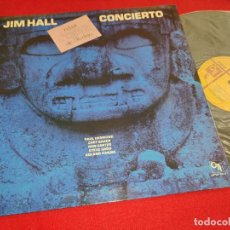 Discos de vinilo: JIM HALL CONCIERTO LP 1975 CTI ESPAÑA SPAIN GATEFOLD DESMOND+BAKER+CARTER+GADD+HANNA. Lote 263233615