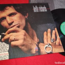 Discos de vinilo: KEITH RICHARDS TALK IS CHEAP LP 1988 VIRGIN ESPAÑA SPAIN ROLLING STONES. Lote 263237315