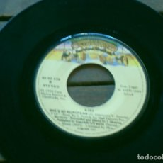 Discos de vinilo: KISS SINGLE SHANDI. SHE´S SO EUROPEAN MADE IN SPAIN. 1980. DEFECTUOSO. NO INCLUYE CARPETA. Lote 263237860