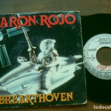 Discos de vinilo: BARON ROJO SINGLE BREAKTHOVEN MADE IN SPAIN. 1985. DISCO PROMOCIONAL. Lote 263239390