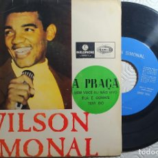 "Discos de vinilo: 7"" WILSON SIMONAL - A PRAÇA - PARLOPHONE LMEP 1276 - PORTUGAL EP (VG++/VG++). Lote 263240060"