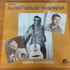 Discos de vinilo: MARVIN RAINWATER - ROCKIN ROLLIN RAINWATER. Lote 263244595
