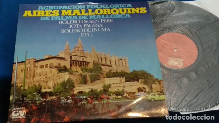 LP VINILO ( AGRUPACION FOLKLORICA AIRES MALLORQUINES DE PALMA DE MALLORCA ) 1976 GRAMUSIC (Música - Discos - LP Vinilo - Étnicas y Músicas del Mundo)