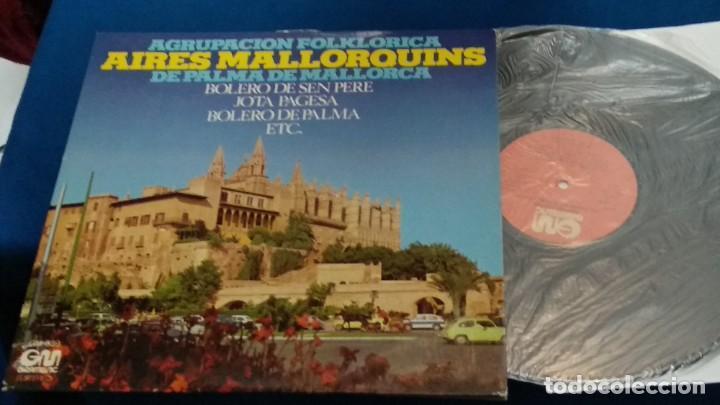 Discos de vinilo: LP VINILO ( AGRUPACION FOLKLORICA AIRES MALLORQUINES DE PALMA DE MALLORCA ) 1976 GRAMUSIC - Foto 2 - 263244760