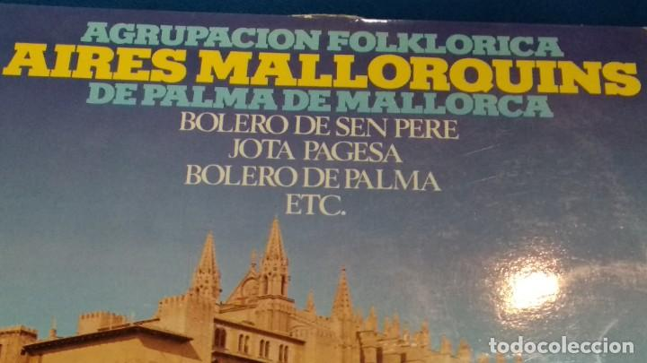 Discos de vinilo: LP VINILO ( AGRUPACION FOLKLORICA AIRES MALLORQUINES DE PALMA DE MALLORCA ) 1976 GRAMUSIC - Foto 3 - 263244760