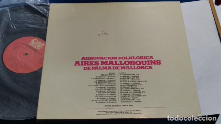 Discos de vinilo: LP VINILO ( AGRUPACION FOLKLORICA AIRES MALLORQUINES DE PALMA DE MALLORCA ) 1976 GRAMUSIC - Foto 5 - 263244760