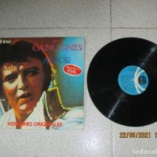 Discos de vinilo: ELVIS PRESLEY - CANCIONES DE AMOR - SPAIN - K-TEL - REF SL-1016 - L -. Lote 263249665