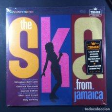 Discos de vinilo: VARIOS - THE SKA (FROM JAMAICA) - LP EDICION LIMITADA VINILO DORADO 2020 - TROJAN (NUEVO). Lote 263252420