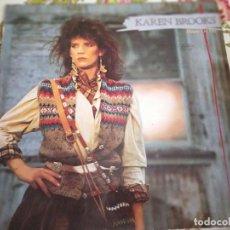 Discos de vinilo: KAREN BROOKS – HEARTS ON FIRE WARNER BROS. RECORDS – 925 051-1 LP, ALBUM, RE 1984.VG+/VG+. Lote 263253645