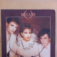 Discos de vinilo: MECANO FIRMADO POR ANA TORROJA Y JOSÉ MARIA CANO. Lote 263255045