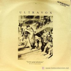 Discos de vinilo: ULTRAVOX-LOVE´S GREAT ADVENTURE MAXI SINGLE VINILO PROMOCIONAL EDITADO POR CHRYSALIS EN 1984. Lote 263257725