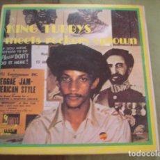 Discos de vinilo: AUGUSTUS PABLO KING TUBBYS MEETS ROCKERS UPTOWN. Lote 263257965